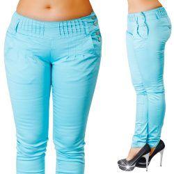 96ae1024e4 Oldalt gombos türkiz színű nadrág XS-S-M-L-XL | Pinterest | Venus and  Fashion