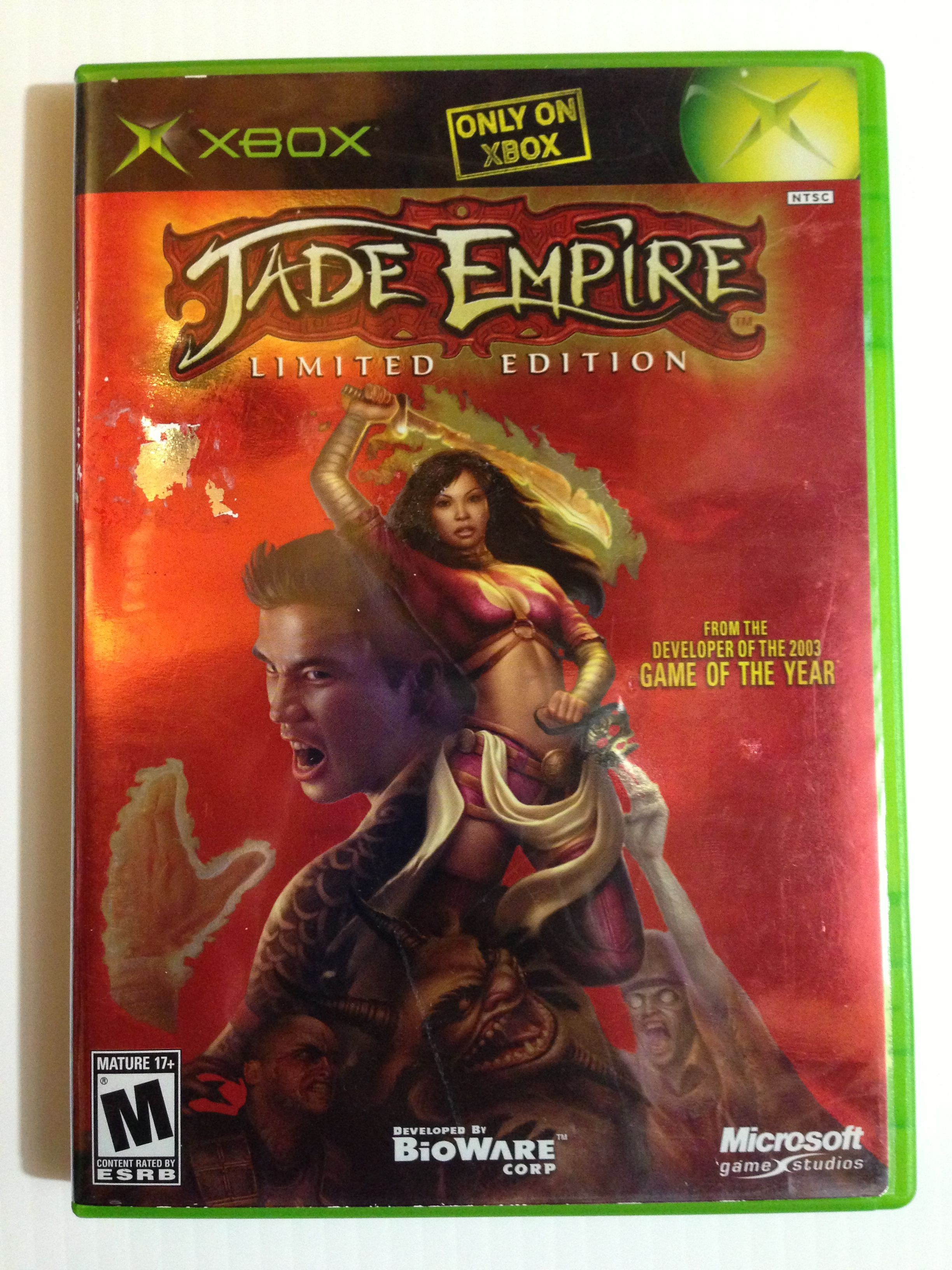 Jade Empire Limited Edition My Favorite Original Xbox Game Of All