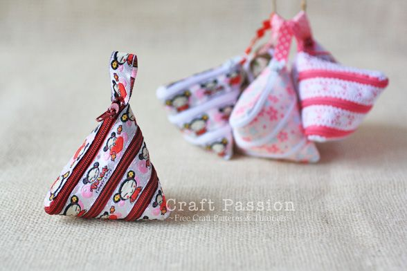how to sew zip-itself coin purse