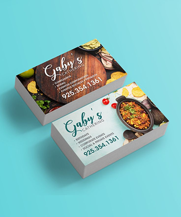 Great Business Card Design Idea For Catering Brand Catering Business Cards Restaurant Card Design Restaurant Business Cards