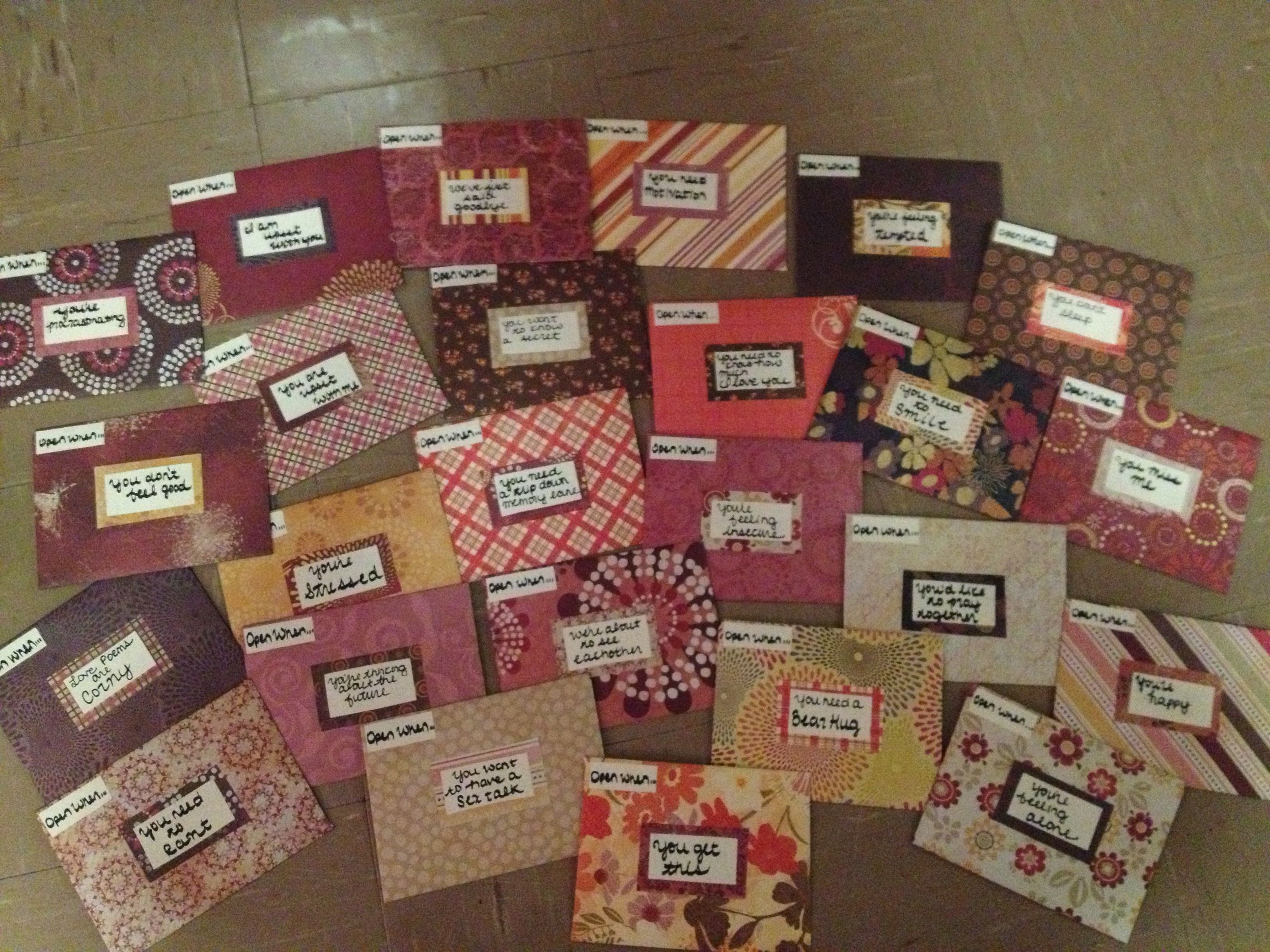 Scrapbook ideas goodbye - More Open When Ideas Topics When You Get This Feeling Alone
