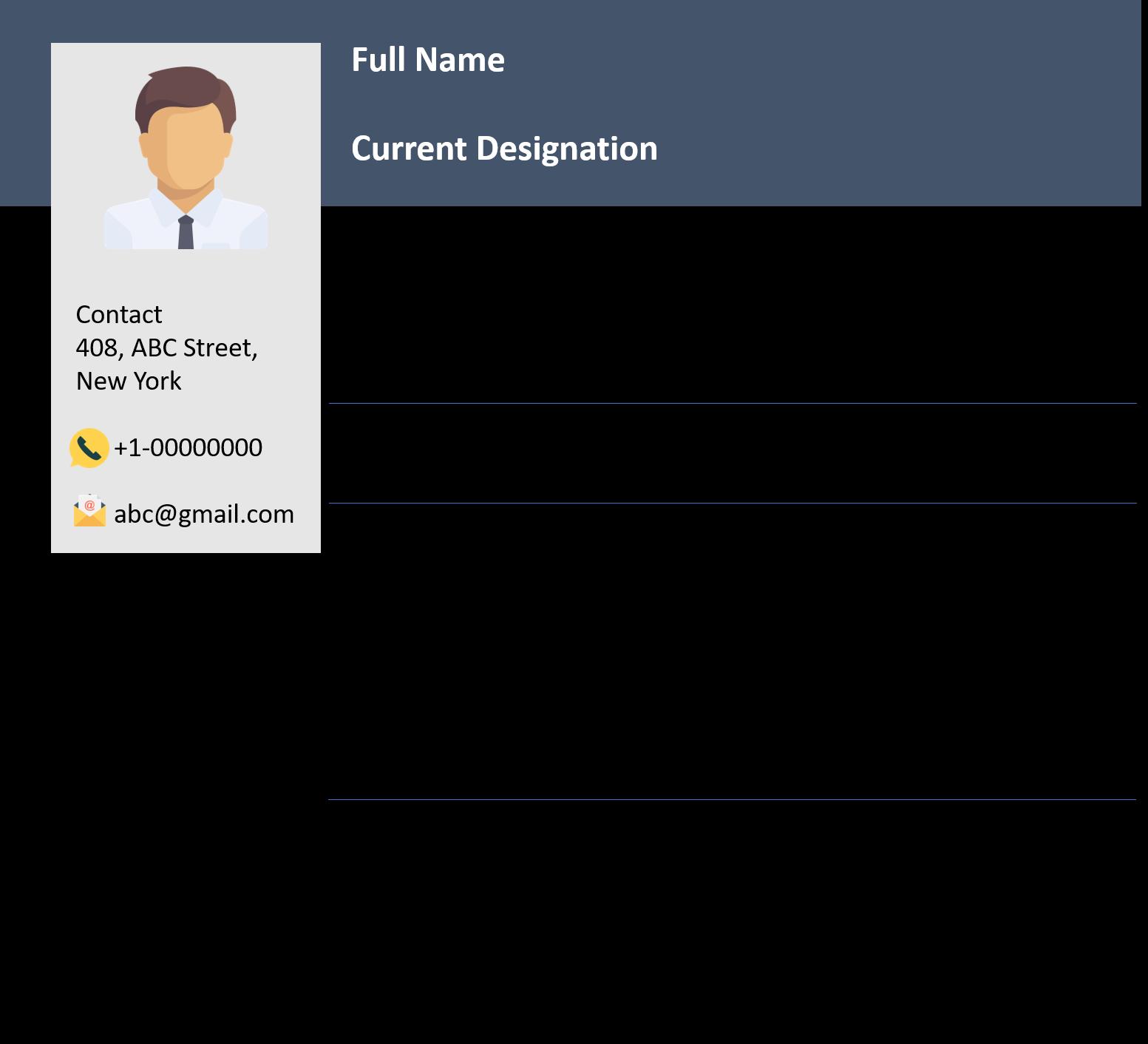 Sample Resume for Java Developer Fresher Awesome Devops