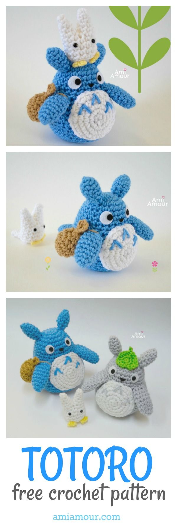 Totoro Crochet Pattern - Amigurumi Patterns, Crochet Patterns ...