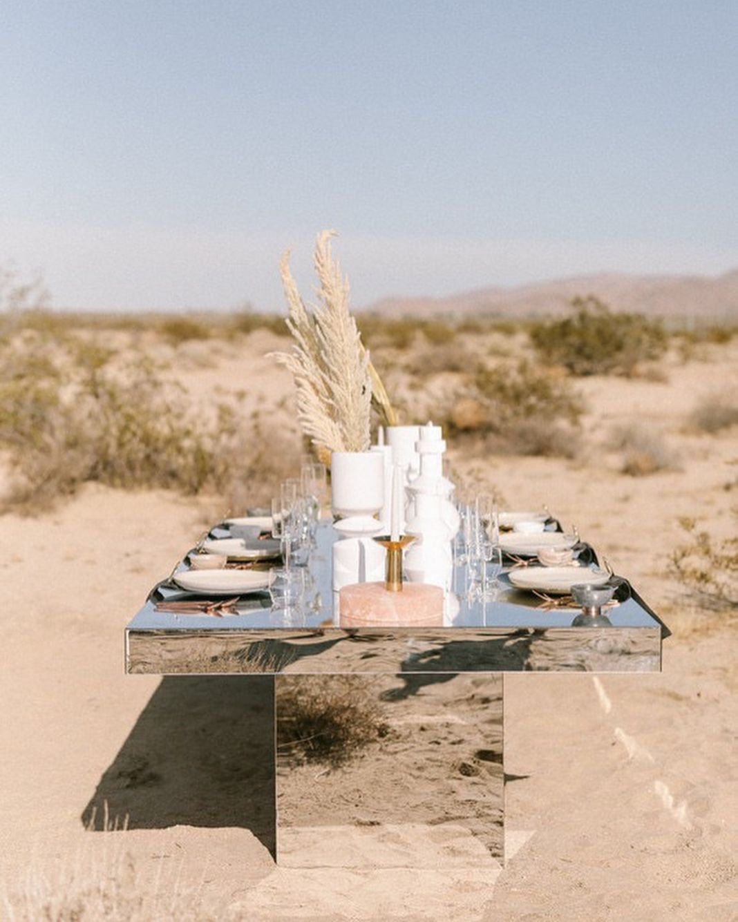 Really Digging This Alternative For A Desert Wedding, Aren