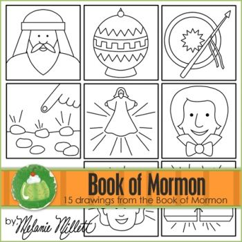 Free lds printables from Green Jello with Carrots Share Your - copy coloring pages for book of mormon