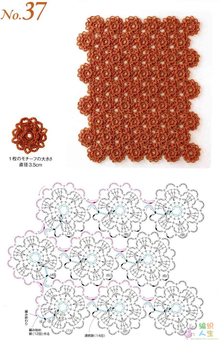 Clases de Puntos y Patrones. Libros - Patrones Crochet | безотрывное ...