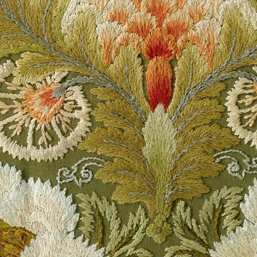 Leek Embroidery Society, 1885 - 1895 - Rijksmuseum. - Click for full panel.
