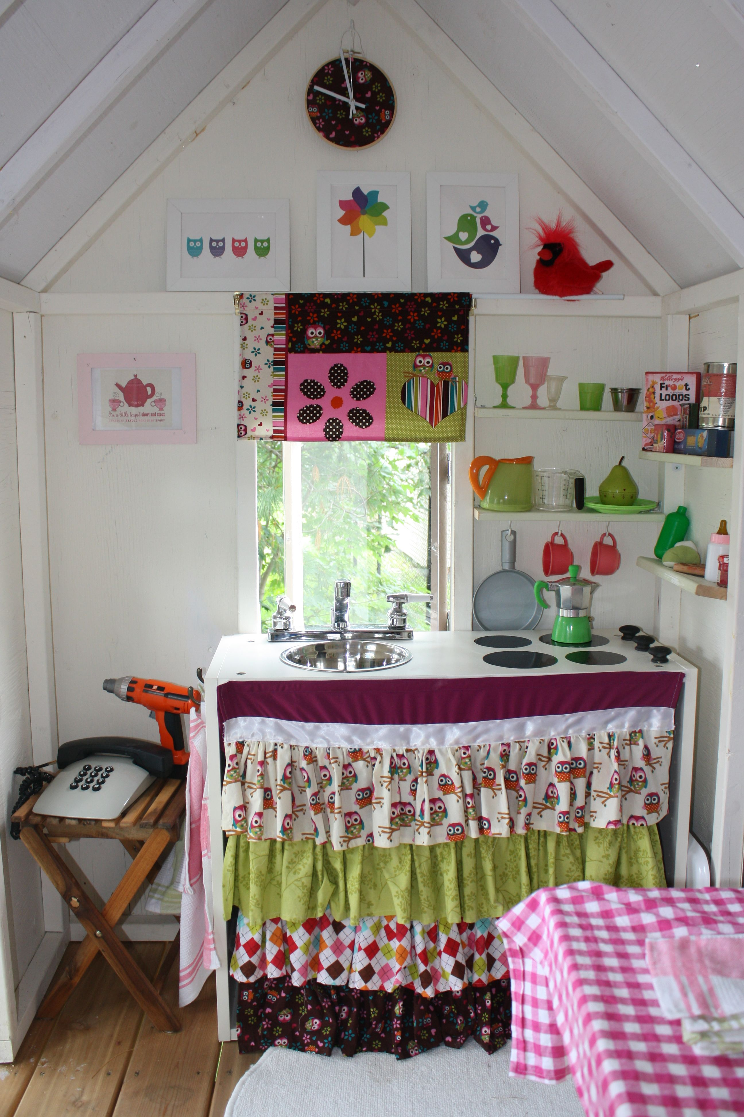 The playhouse project diy projects also best cubby house images garden tool storage inside rh pinterest