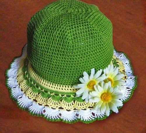 Patrones de vestido y sombrero de niña - click para ver fotos ...