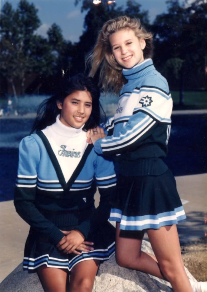 4953a9b8e4c great uniforms and the cheerleaders look very cute.   Vintage ...