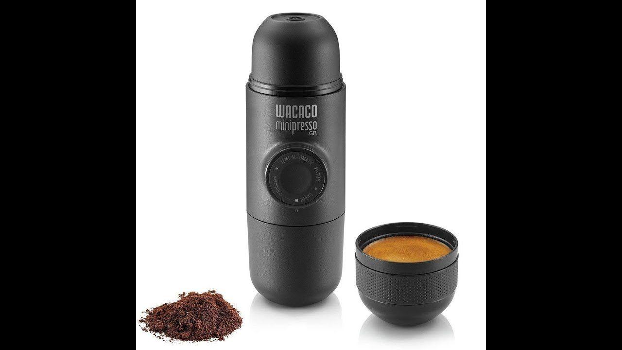 Minipresso Gr ماكينه قهوه سبرسوميني بريسو المحموله تحتاج بن مطحون Travel Coffee Maker Coffee Travel Portable Espresso Machine