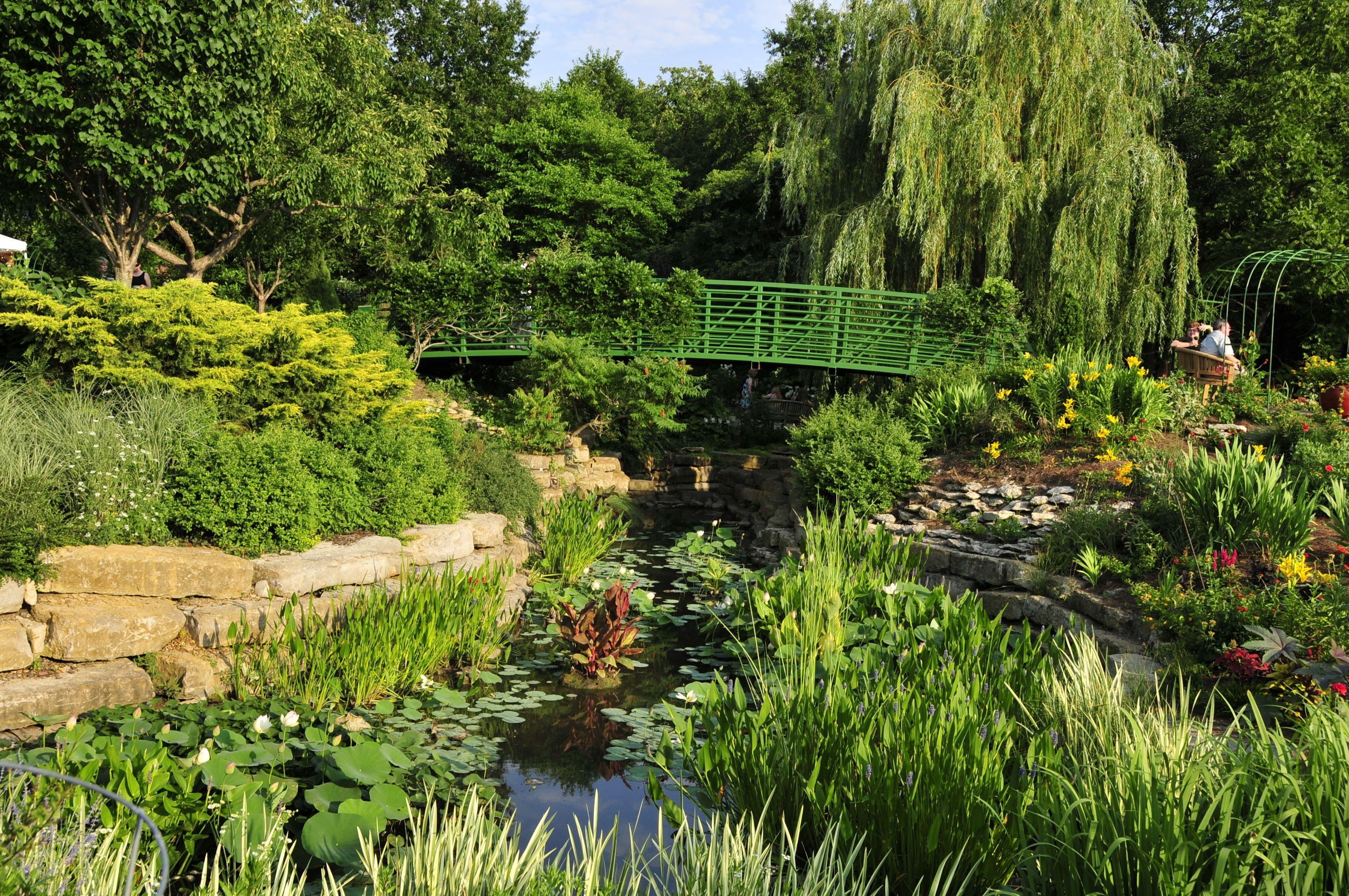 Kansas City Botanical Gardens >> The Monet Garden Overland Park Arboretum And Botanical