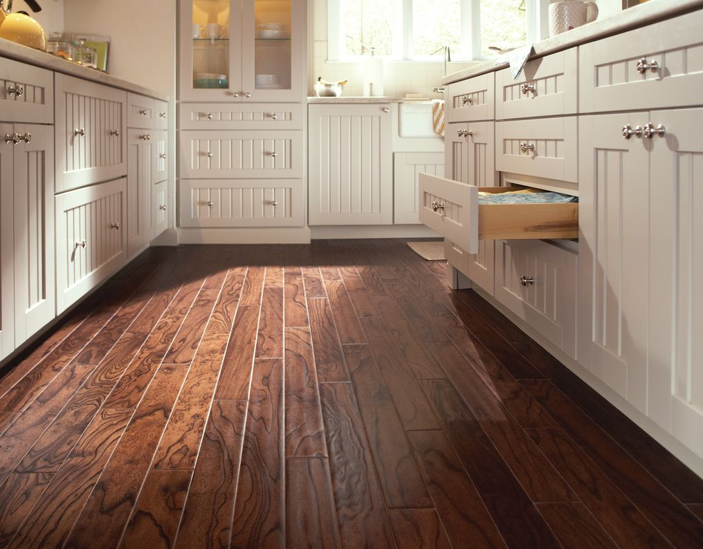 Look beyond tile for your kitchen floor wood floors are a great look beyond tile for your kitchen floor wood floors are a great way to add dailygadgetfo Image collections