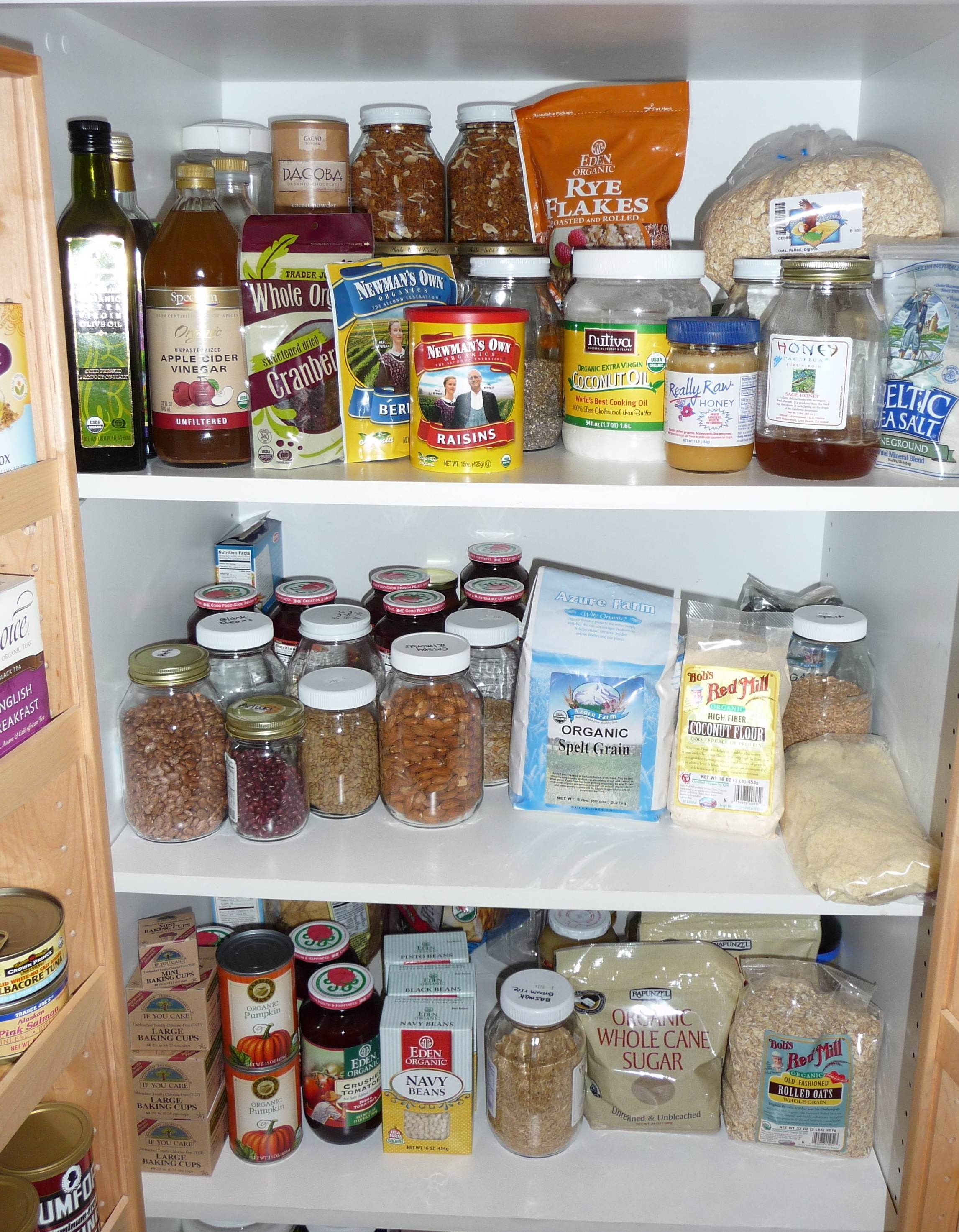 How to stock your pantry / frig with Whole Food Cooking Essentials ...