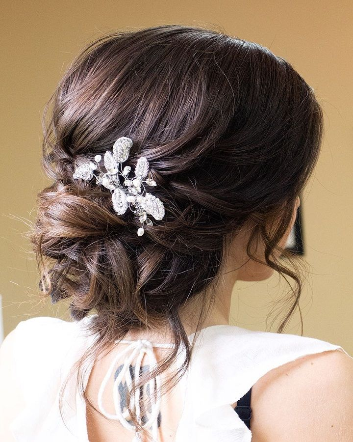 This Beautiful Wedding Hair Updo Hairstyle Will Inspire You