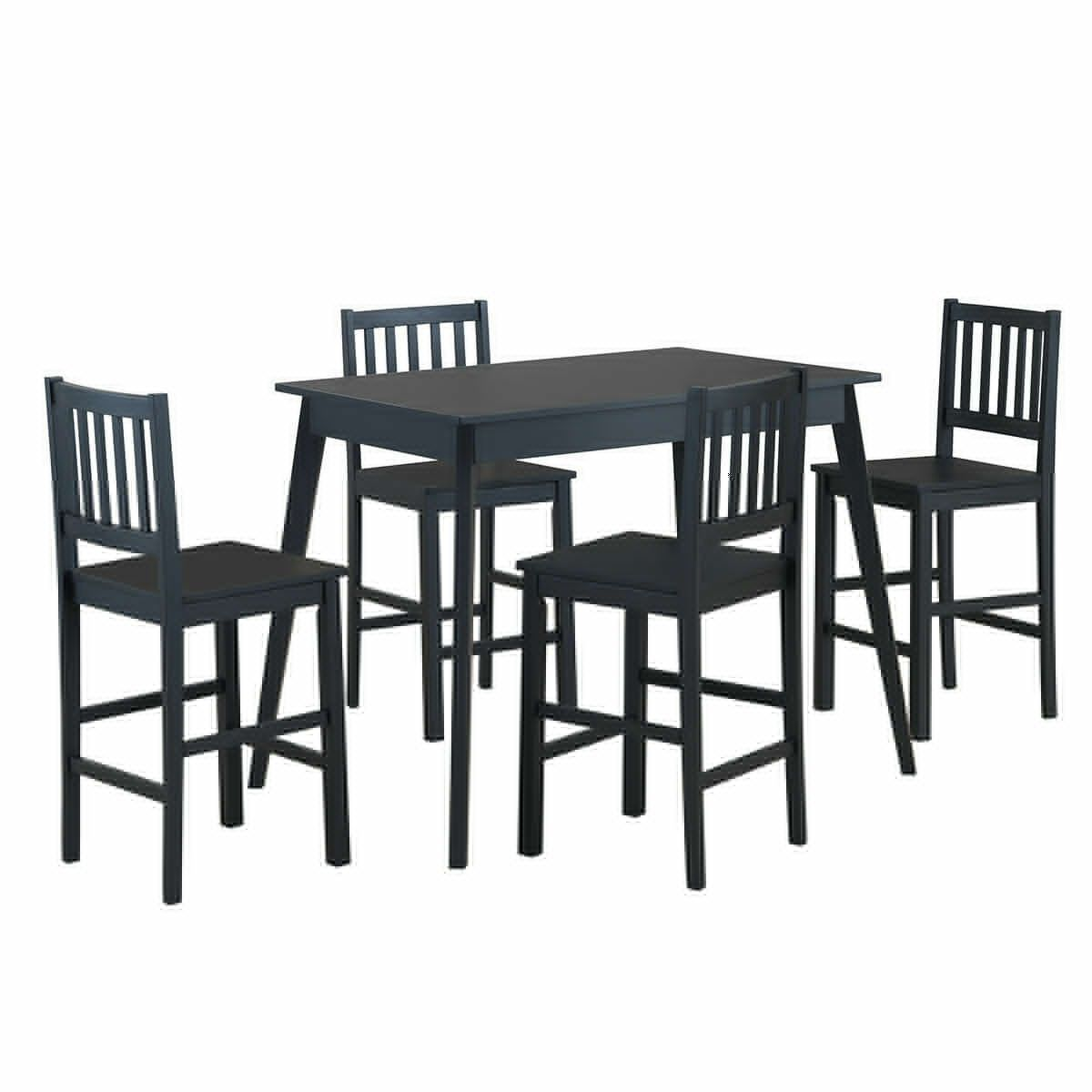 5 Piece Counter Height Dining Set Kitchen Table Counter Dining Height Kitchen Pie Counter Height Dining Sets Wood Dining Table Counter Height Kitchen Table [ 1200 x 1200 Pixel ]