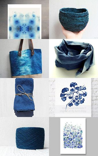 Blue by Ayelet Iontef on Etsy--Pinned with TreasuryPin.com
