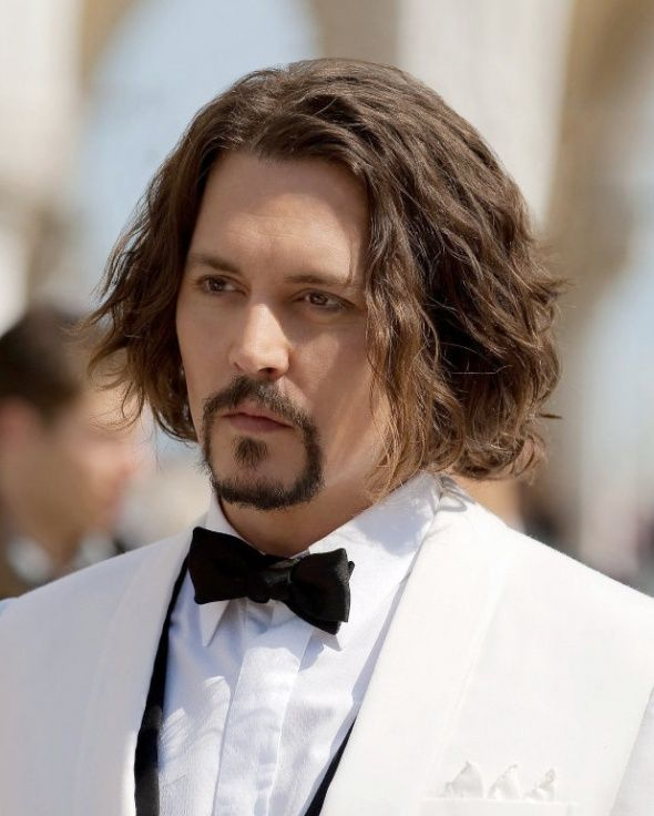 Johnny Depp Tourist Long Hairstyle