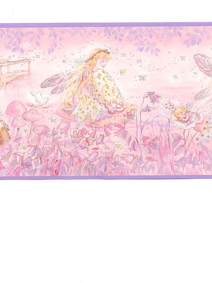 Perfect for a Fairy Princess Bedroom. Wallpaper from AmericanBlinds.com #girlsroom #pink