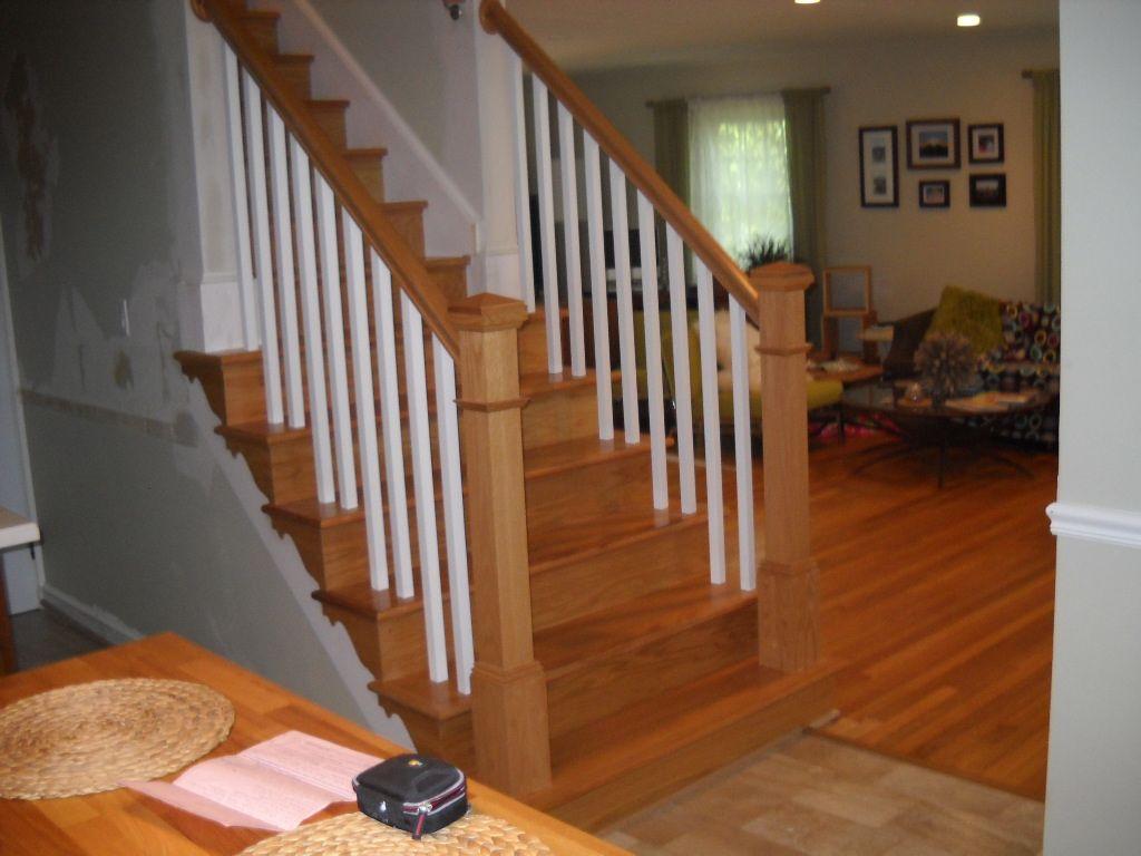 Interior Wood Railings | Replace Wood Railings Ashburn    Precisioninteriorrails.com