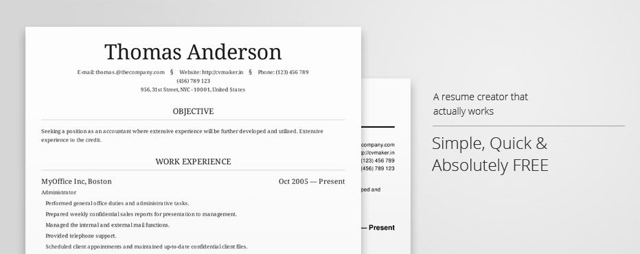 Create Professional Resumes Online For Free Edtech Professional