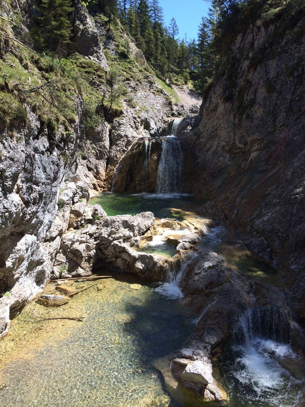 Stuibenfalle Reutte Austria Tirol Wanderweg Reiseziele Ausflug Tirol
