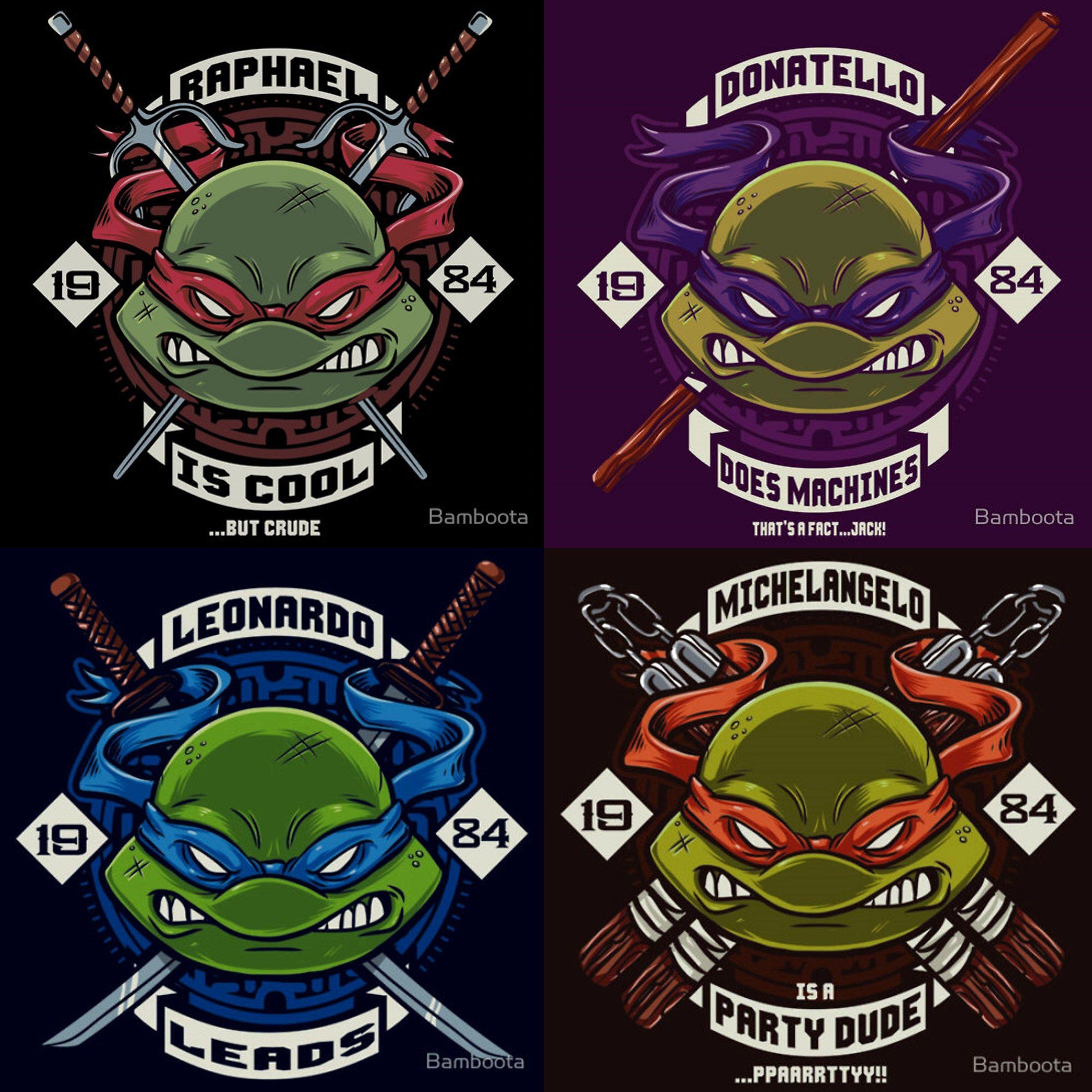 Teenage Mutant Ninja Turtles Fan Art (With images) Ninja
