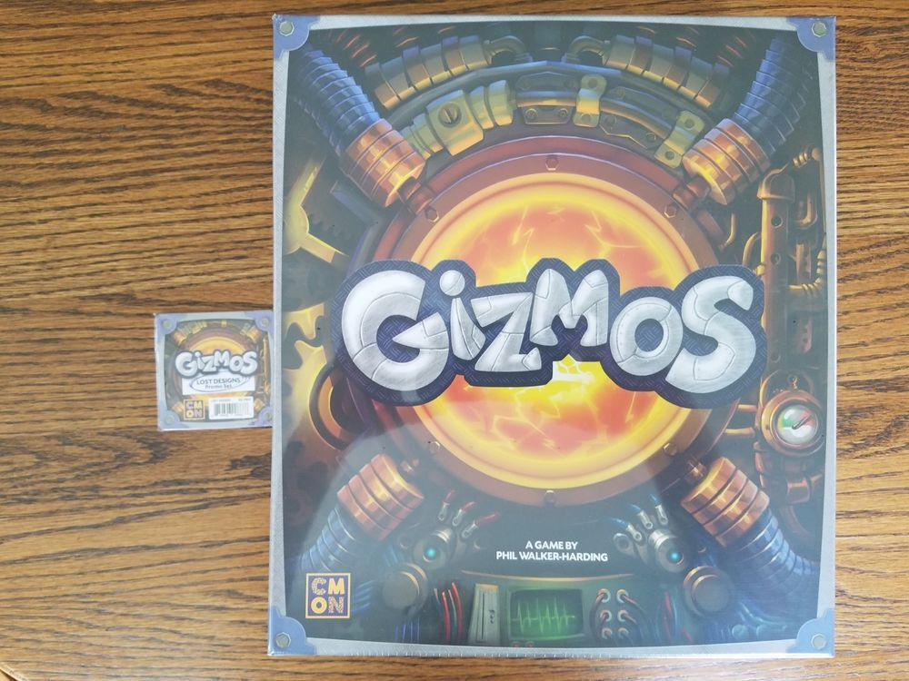 CMON Gizmos Board Game with Lost Designs Promo Pack from Gen Con ...