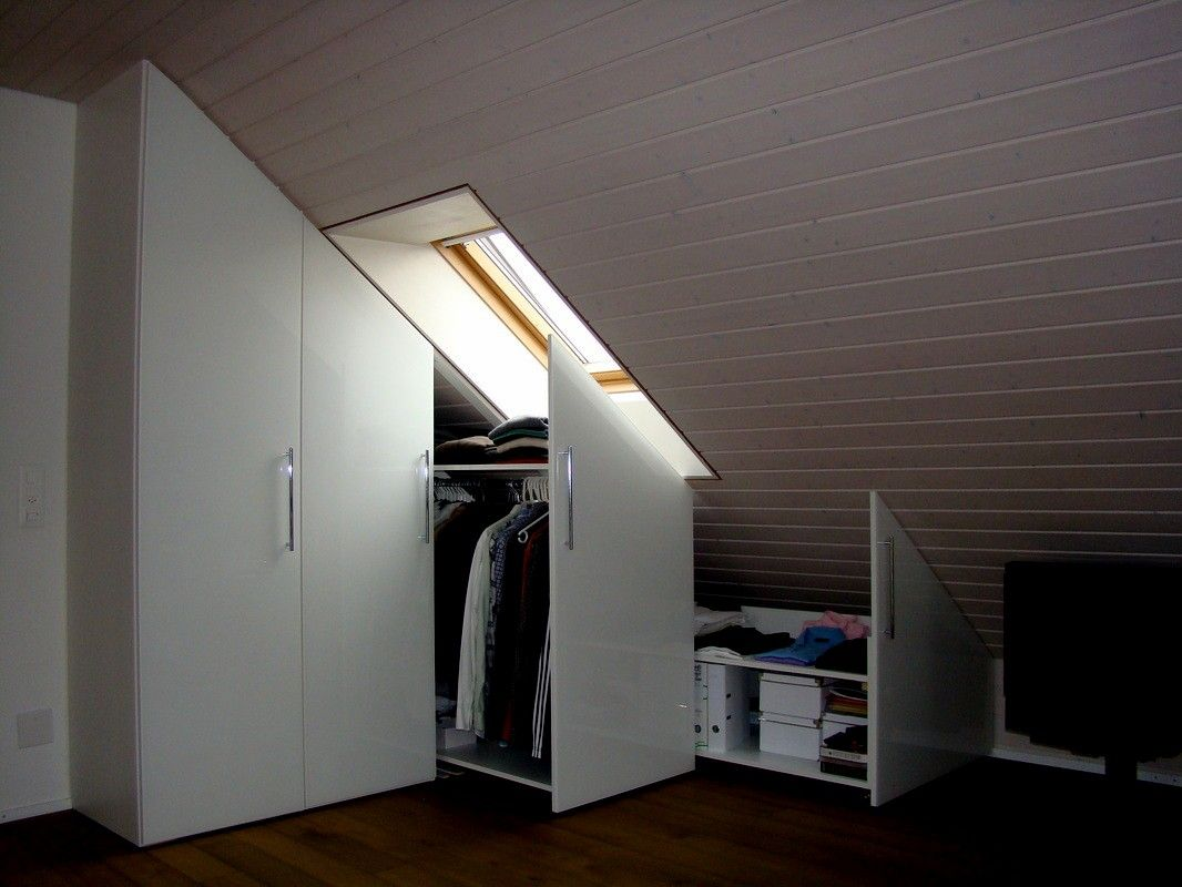 Ausziehschrank Ikea Built In Wardrobe For Sloping Roof Built Sloping Wardrobe