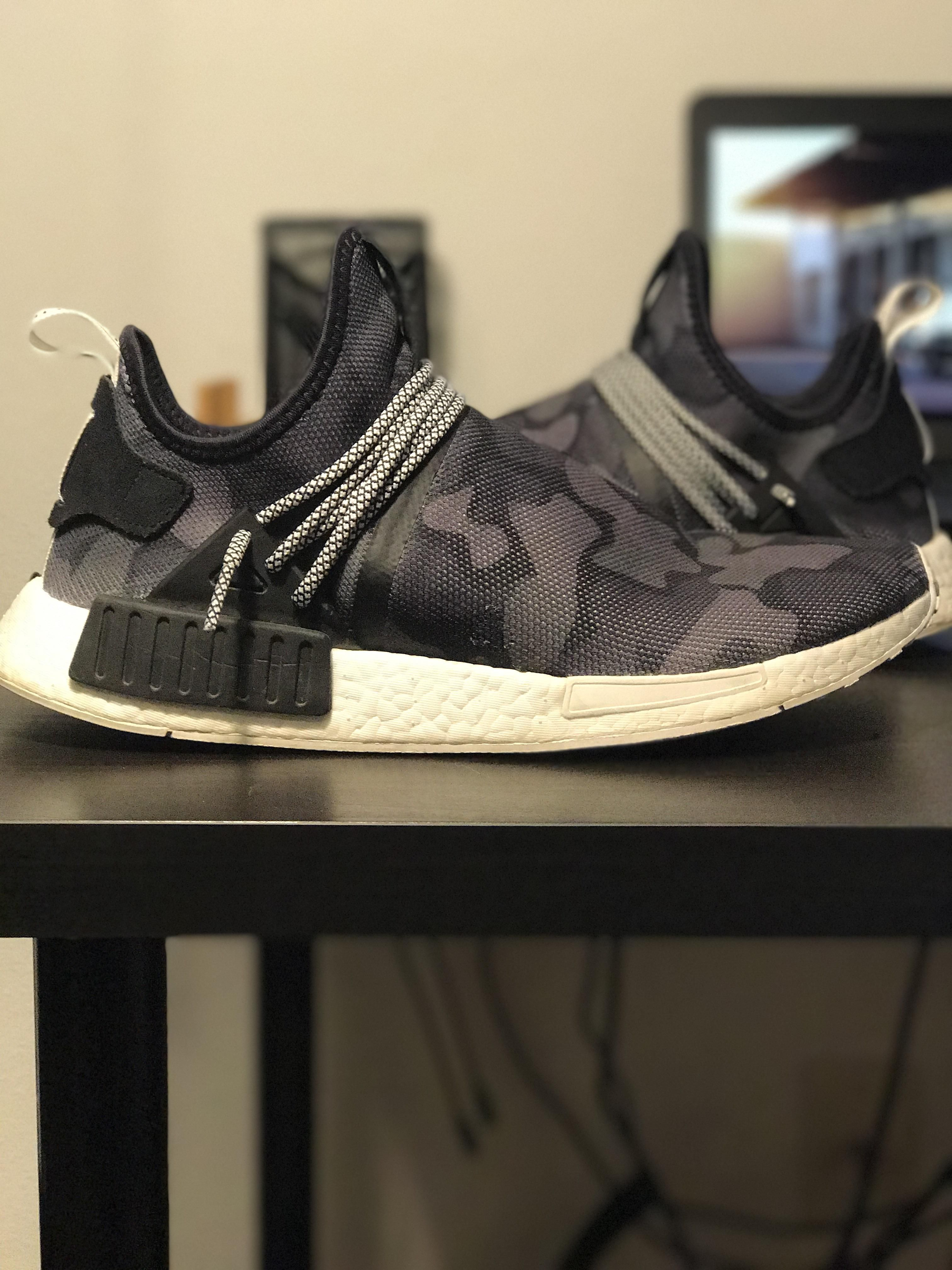 93b780efec193 My first attempt at a custom. Human Race Style NMD XR1