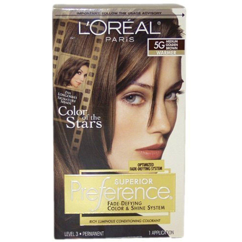 Pref Haircol 5g Size 1ct Loreal Preference Hair Color Medium Golden