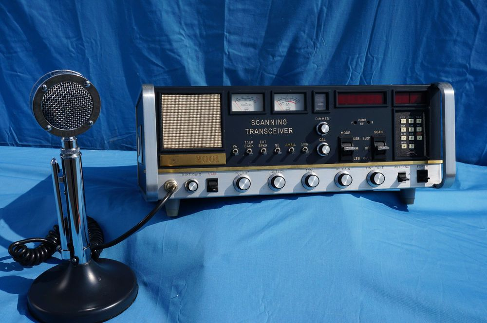 Arf 2001 cb base station radio with the original mic radios and us 59500 used in consumer electronics radio communication cb radios sciox Gallery