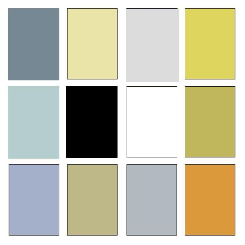 Glade Cottage: Color Palette   Cottage paint colors, Benjamin moore ...