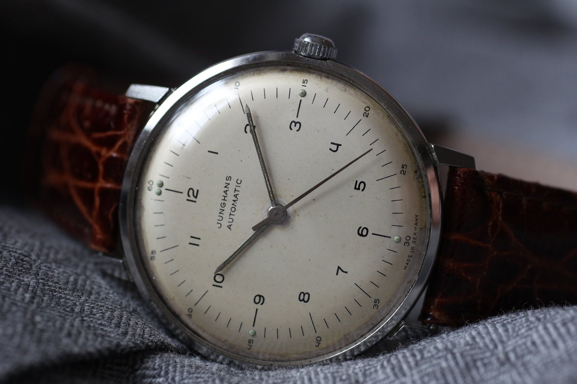 Junghans Max Bill J83e Junghans Uhren Max Bill Uhren Herren
