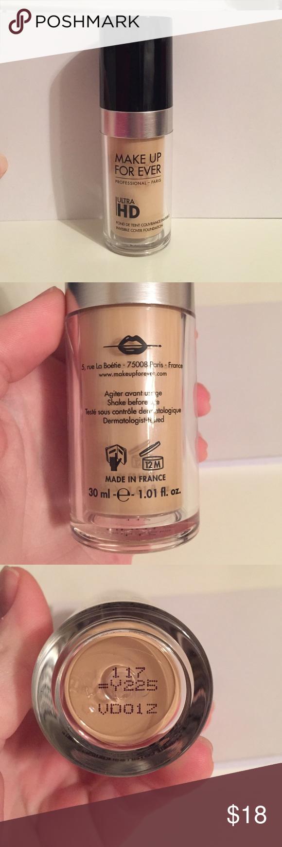 Makeup forever ultra HD foundation Makeup forever ultra