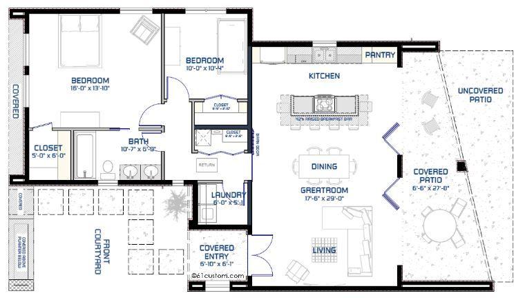 Planos de casas minimalistas de un solo piso planos y for Casa minimalista planos