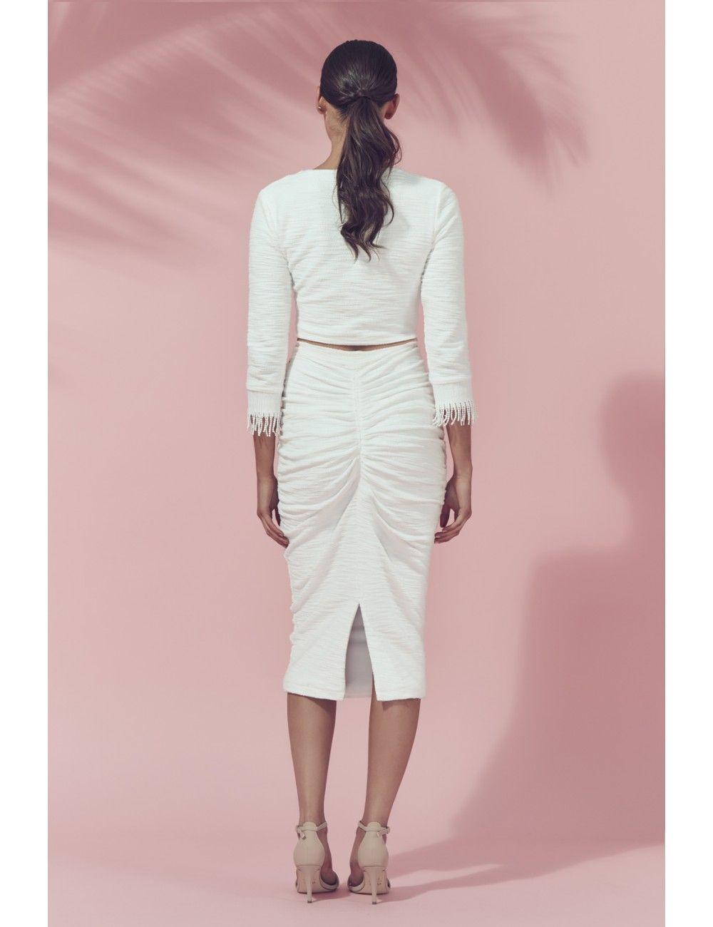 Kali Skirt — MATEA: Woman's designer fashion online | Australian designer woman's dresses | Timeless designer garments