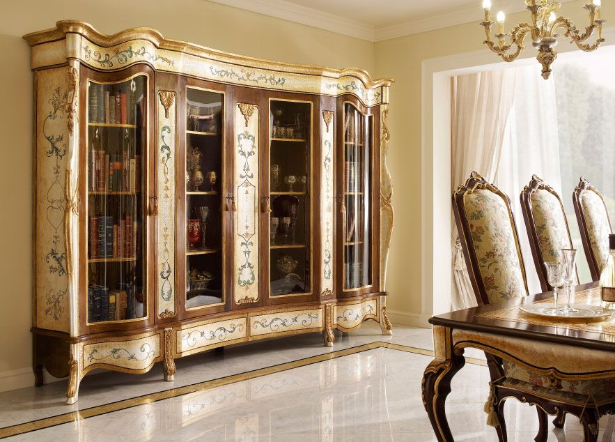 Classic Luxury Home Study Furniture by Andrea Fanfani Italy