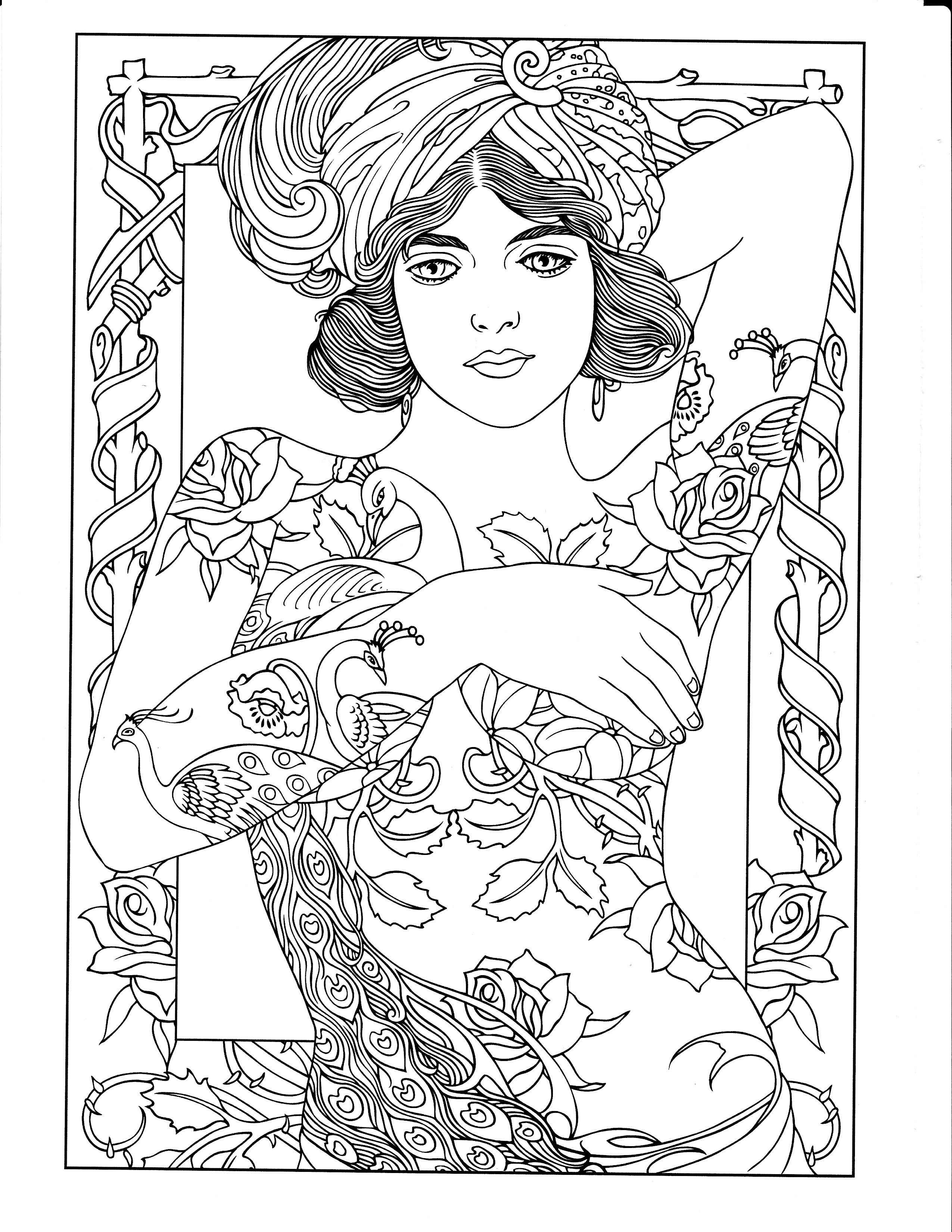 Pin on body art coloring pages