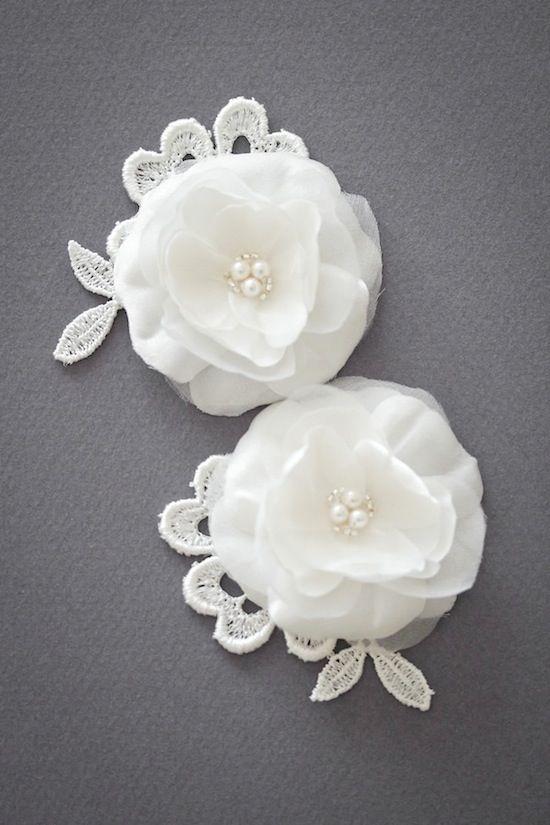 TESSA | Silk flower hair accessories | Percy Handmade