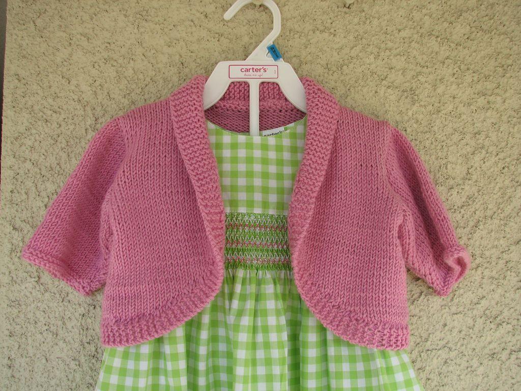 Ravelry: Baby Bolero by Debbie Bliss | Bolero pattern ...