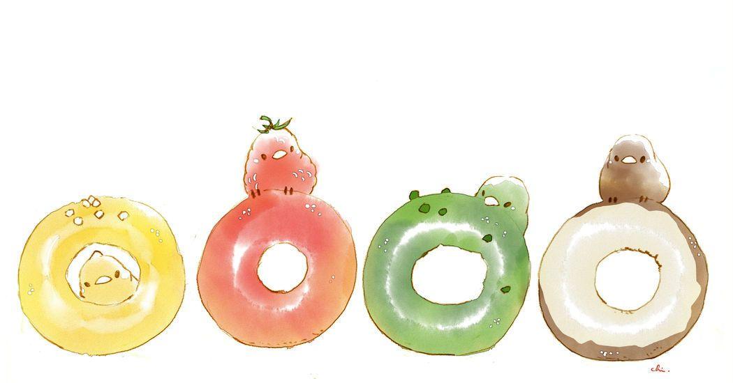 お好きな色をどうぞ カワイイアート 食品イラスト すいーとり