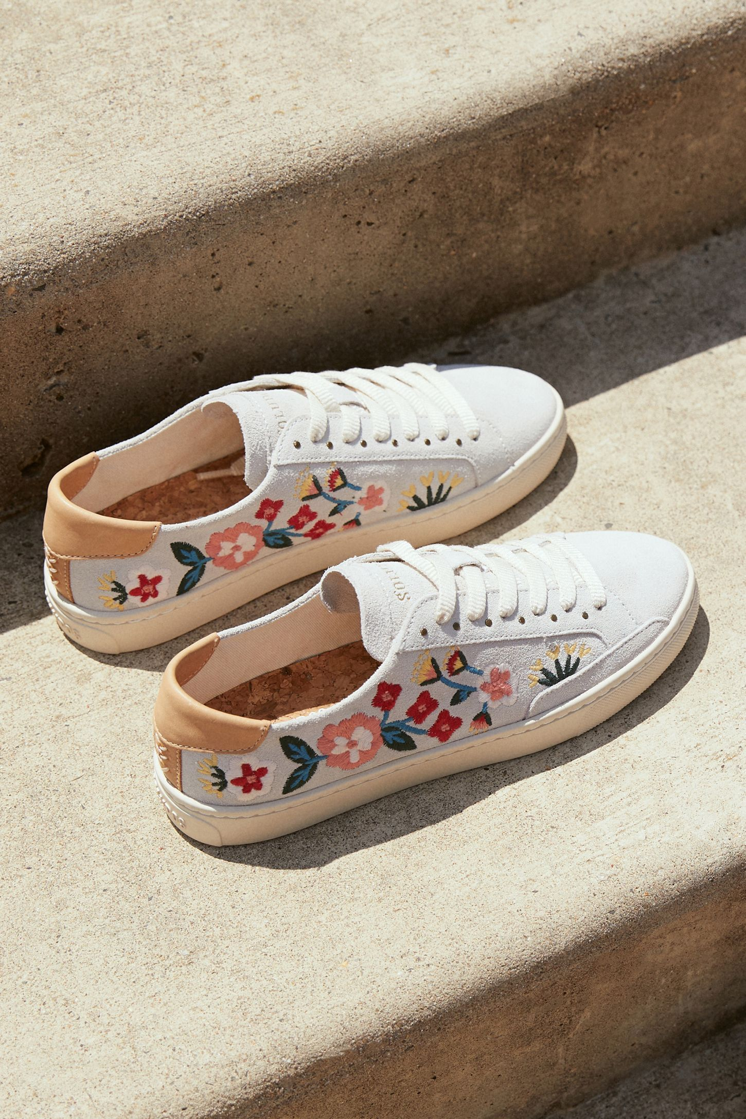Anthropology $128. Suede Soludos x