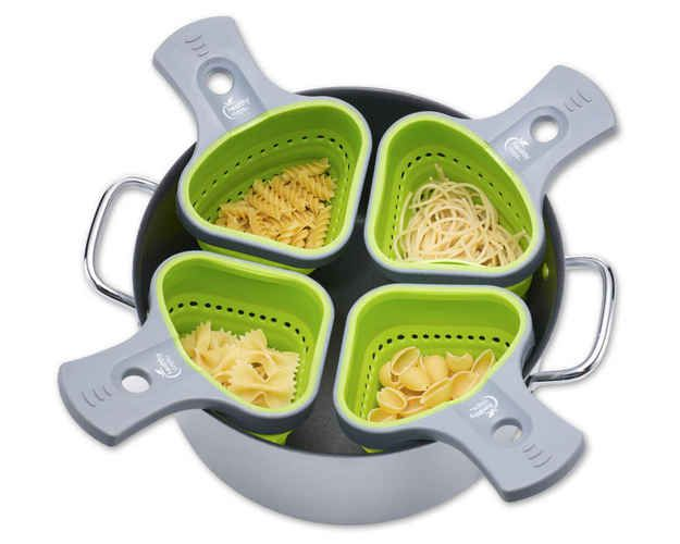 Portion Control Pasta Baskets, $9 each   36 Clever Gifts For Food Lovers That You'll Want To Keep For Yourself