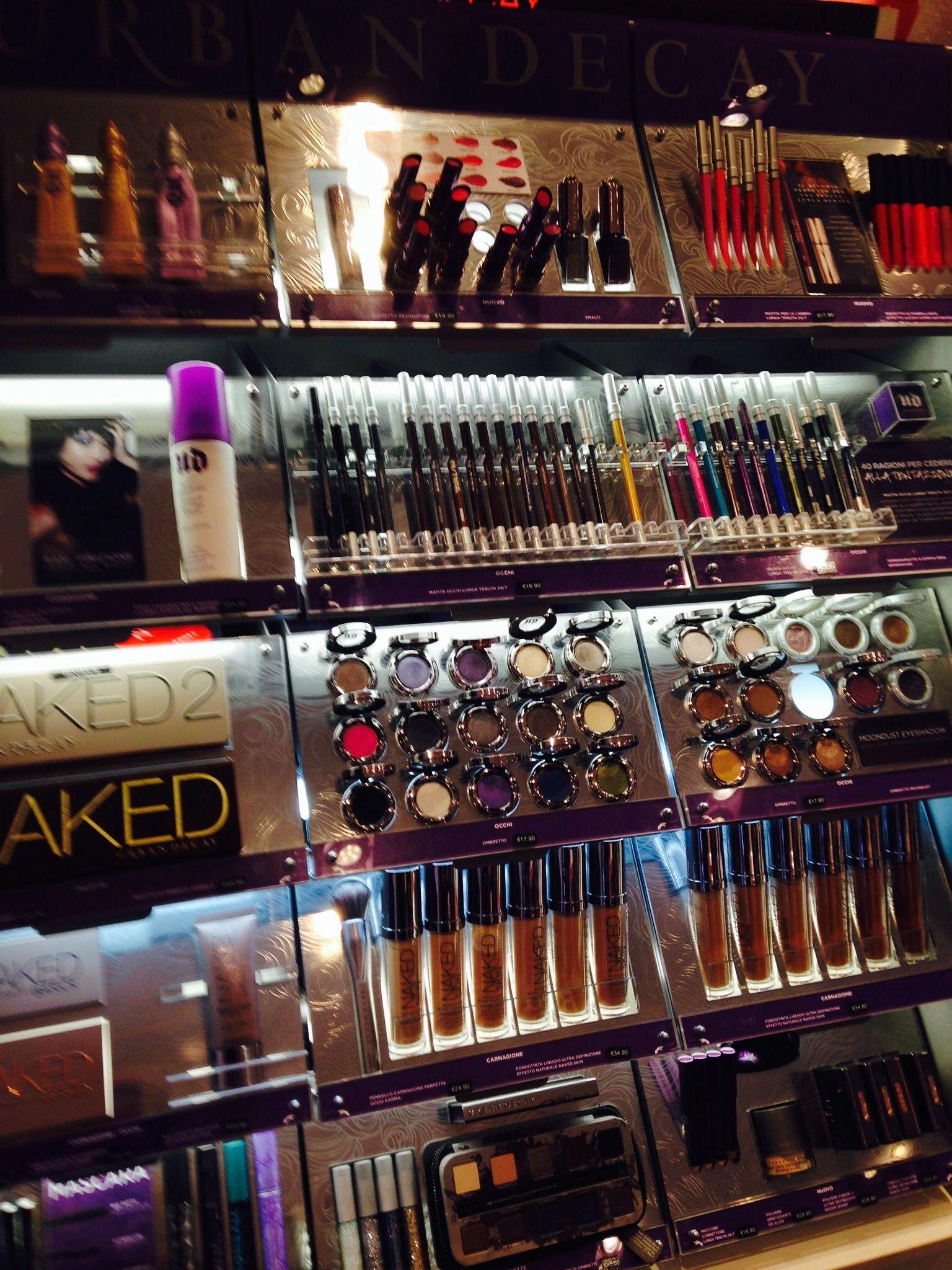 Nars makeup counter in Bristol. Beautiful makeup
