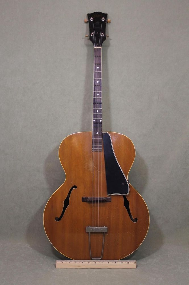 Details about 1937 Gibson TG-50 Tenor Guitar 4-String Archtop