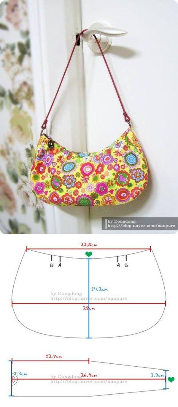 Taschen | Taschen | Pinterest | Bolsos, Molde y Costura