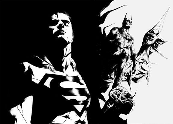 Superman e Batman juntos!