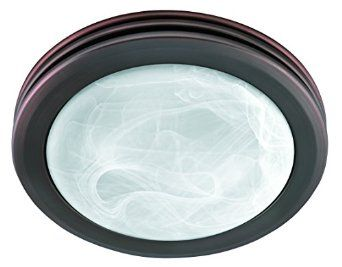 Hunter 90058 Bathroom Fan Light Imperial Bronze Saturn