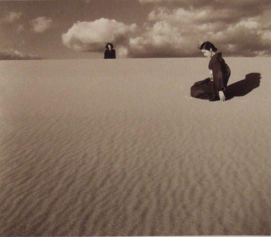 inneroptics:   My wife in the dunes IV, Japan, 1950-  Shōji Ueda
